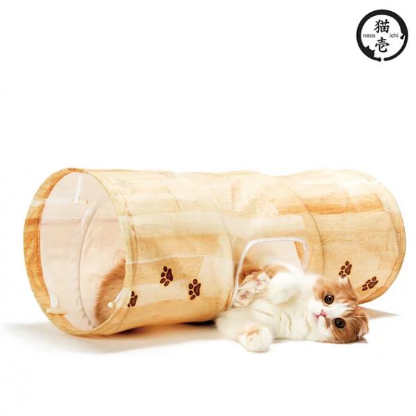 【貓壹】 奇幻隧道(雙層木紋)
