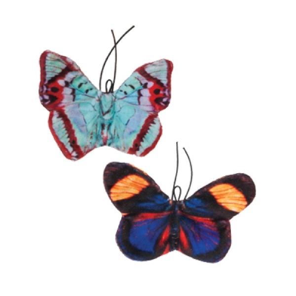 【美國PETMATE傑克森】貓草玩具-蝴蝶(2入組)