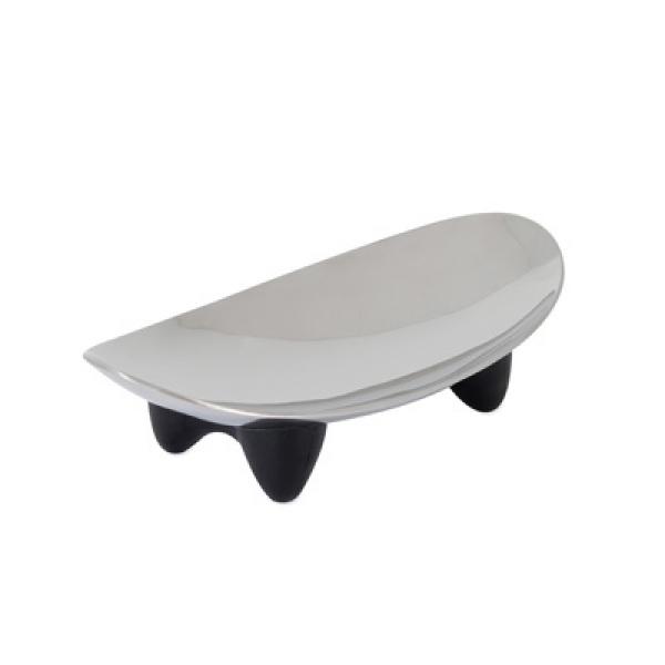 【美國PETMATE傑克森】不鏽鋼曲線貓盤