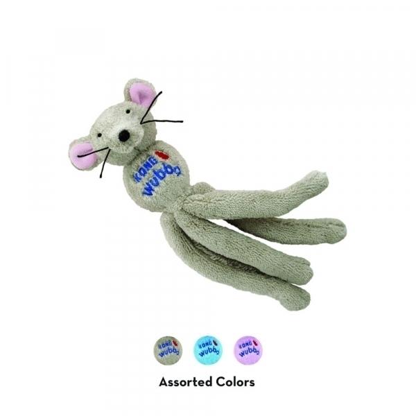 【KONG】舞吧貓好朋友-老鼠(內含貓草/多色任選) Wubba Cat Friends – Mouse