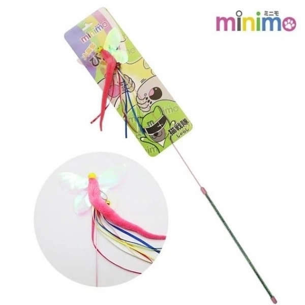 【minimo】貓戰隊逗貓棒-綠戰士(長柄蜻蜓)
