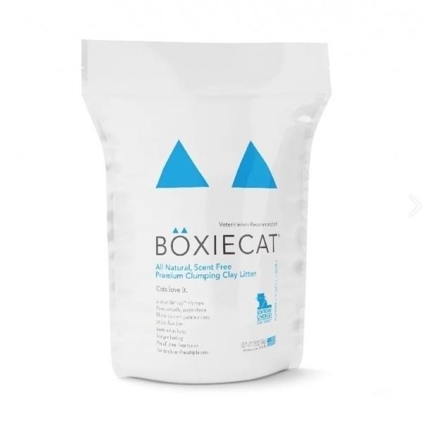 【BOXIECAT博識貓】美國黏土凝結貓砂 (16lbs)