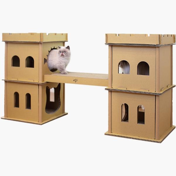 【Petique百嬌客】倫敦鐵橋貓屋