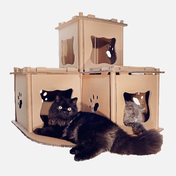 【Petique百嬌客】貓的碉堡
