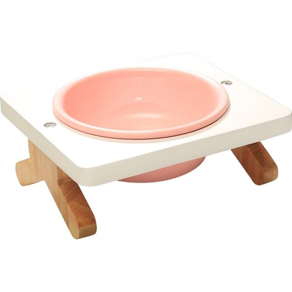 【CatFeet】竹製高叉單碗組(多色任選)