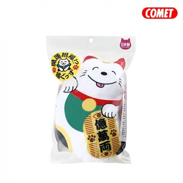 【COMET】木天蓼玩具-招財貓踢枕