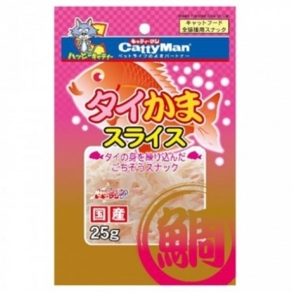 【Cattyman】貓用鯛魚絲 25g