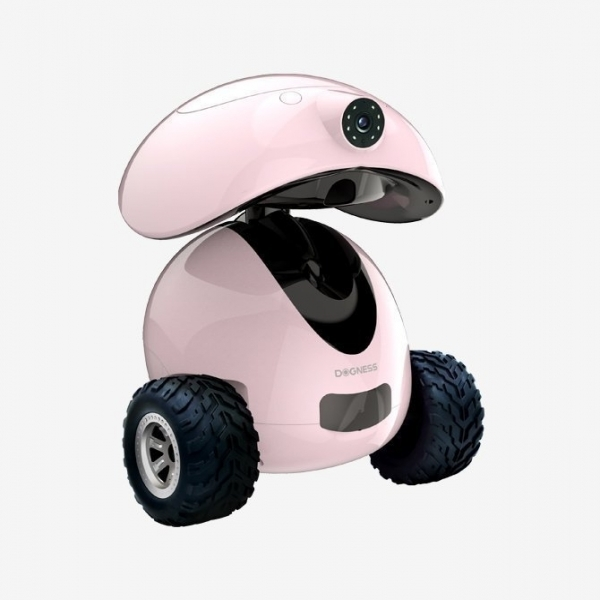 【DOGNESS多尼斯】APP智能寵伴機器人(粉)