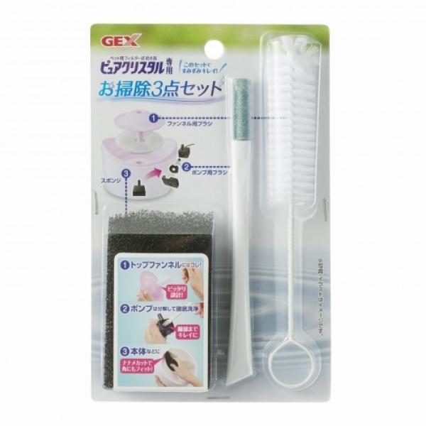【日本GEX】飲水器清潔刷管刷組