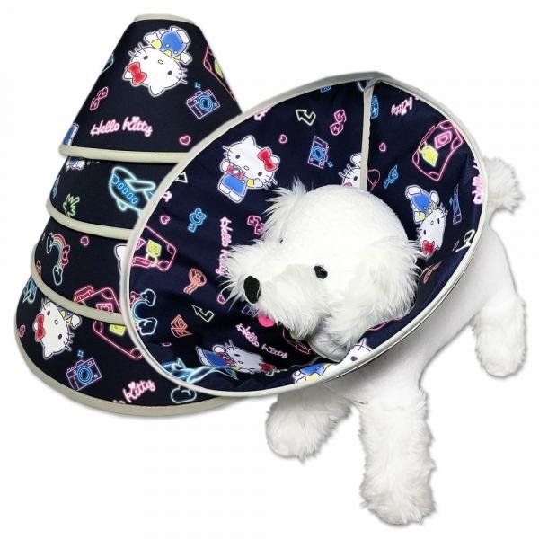 【Fancy Pets】 防護頸套/頭套-KT霓虹燈 (三麗鷗正版授權)