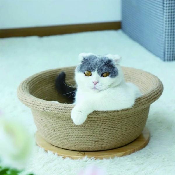 【喵仙兒】天然劍麻貓窩