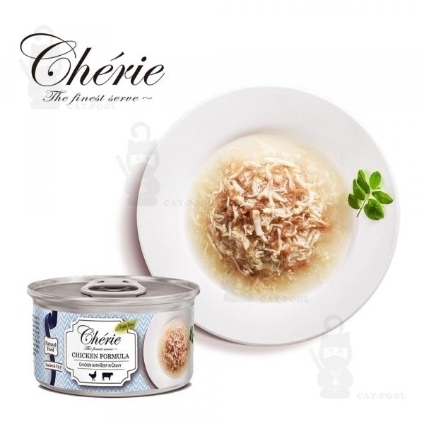 【法麗Cherie】微湯汁系列80g-天然嫩雞佐牛肉