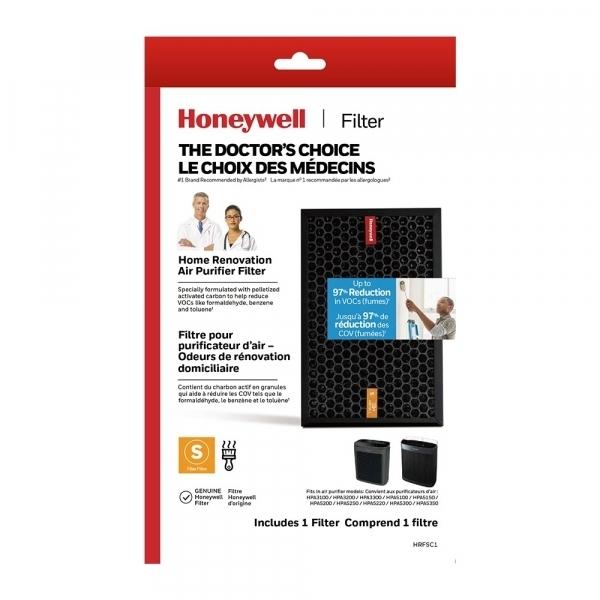 居家清潔必備【美國Honeywell】HRF-SC1 強效淨味濾網-家居裝修