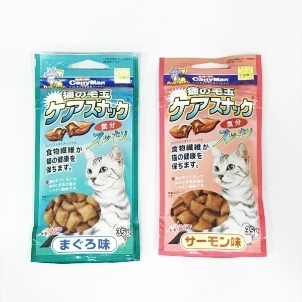 【CattyMan】潔牙化毛餅乾35g