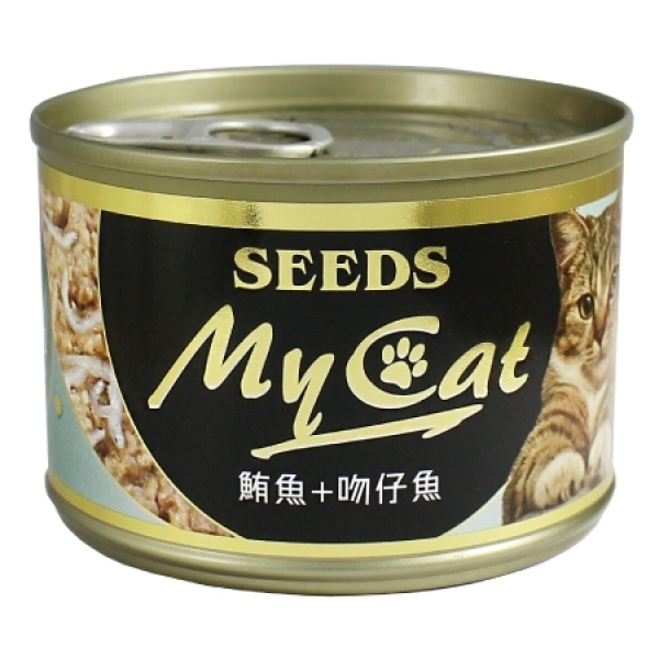 【My Cat 我的貓】機能餐罐170g(大罐)-(白身鮪魚+吻仔魚)6號餐