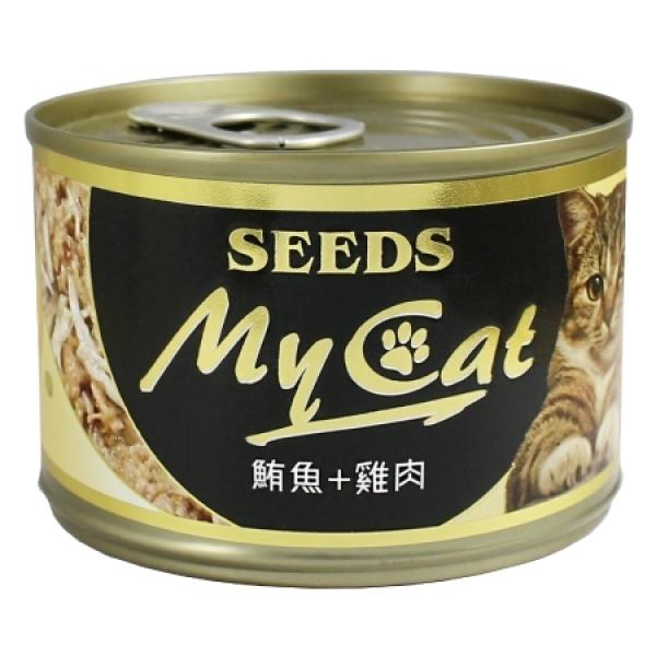 【My Cat 我的貓】機能餐罐170g(大罐)-(白身鮪魚+雞肉)2號餐