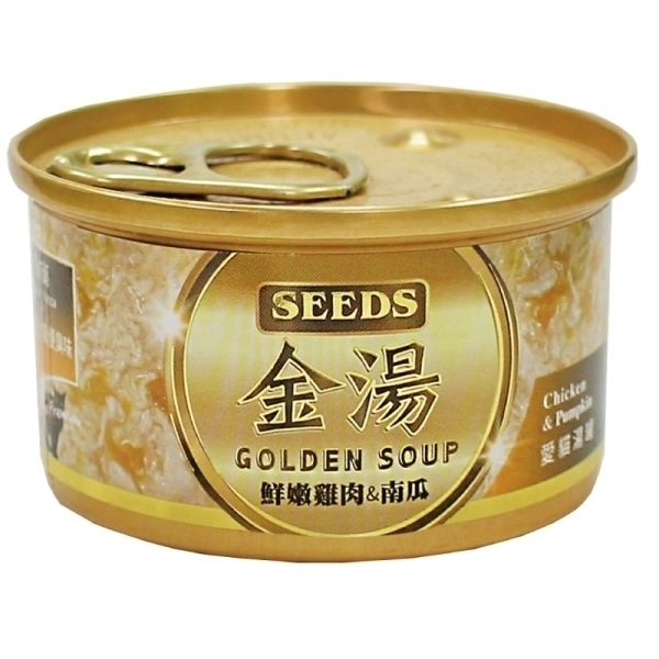 【GOLDEN SOUP】金湯愛貓湯罐 80g-鮮嫩雞肉+南瓜
