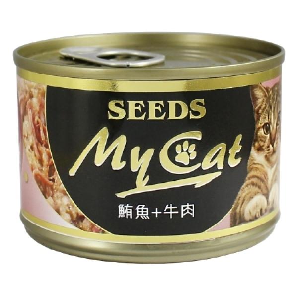 【My Cat 我的貓】機能餐罐170g(大罐)-(白身鮪魚+牛肉)1號餐