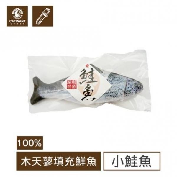 【貓咪旺農場】100%木天蓼填充玩具-小鮭魚