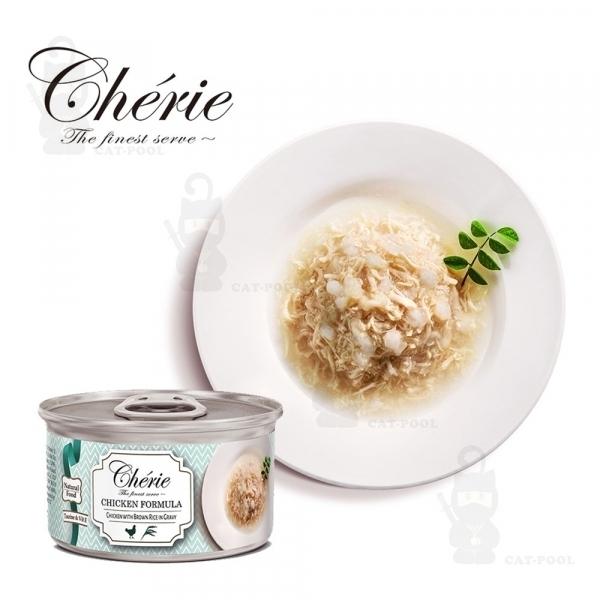【法麗Cherie】微湯汁系列80g-天然嫩雞佐糙米