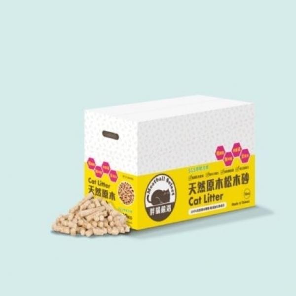 【胖貓嚴選】天然原木松木砂10kg