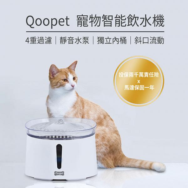 【Qoopet】智能飲水機/自動飲水器