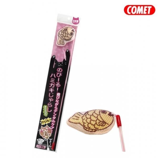 【COMET】木天蓼伸縮逗貓棒-鯛魚燒