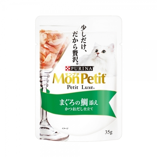 【MonPetit貓倍麗】極上餐包35g-鮮鮪紅鯛(12入)