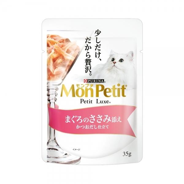 【MonPetit貓倍麗】極上餐包35g-鮮鮪嫩雞(12入)