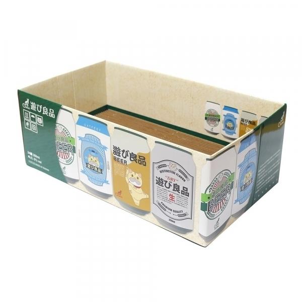 【CatFeet】箱型貓抓板(啤酒季)(附貓薄荷+木天蓼)