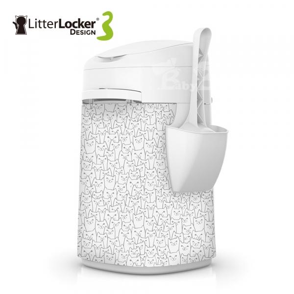 【LitterLocker】Design 第三代貓咪鎖便桶(貓群款)
