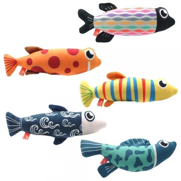 【Amy Carol】貓草玩具-魚仔系列