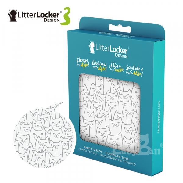 【LitterLocker】Design 第三代貓咪鎖便桶衣(貓群款)