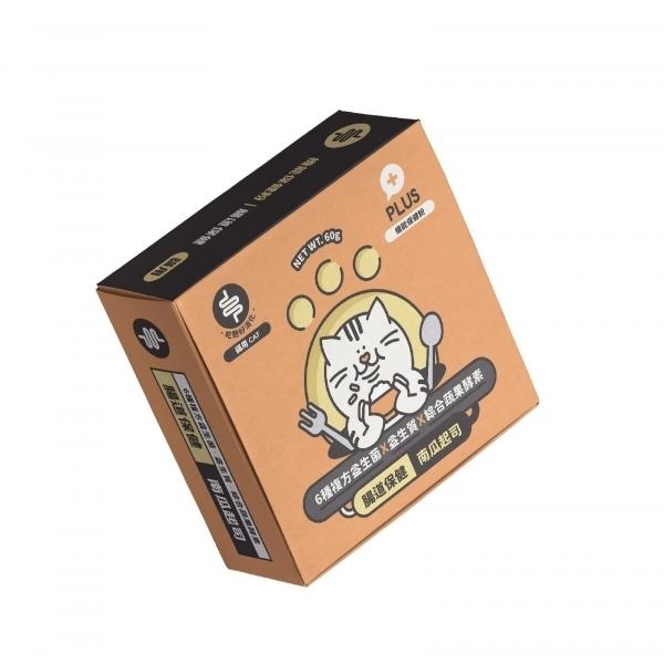 【陪心寵糧】陪心機能PLUS-貓貓腸道保健(60包/盒)