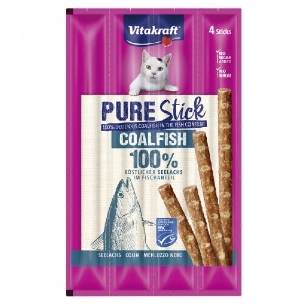 【德國 Vitakraft】貓快餐肉條 厚鱈燒(4條/包)