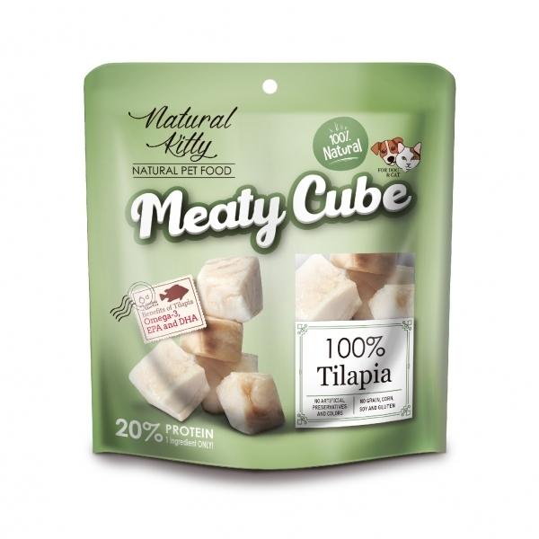 【Natural Kitty自然小貓】100%天然鮮肉塊-多汁鯛魚50g