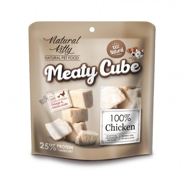 【Natural Kitty自然小貓】100%天然鮮肉塊-多汁雞肉60g