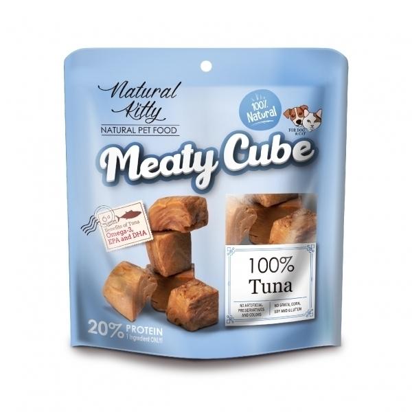 【Natural Kitty自然小貓】100%天然鮮肉塊-多汁鮪魚60g